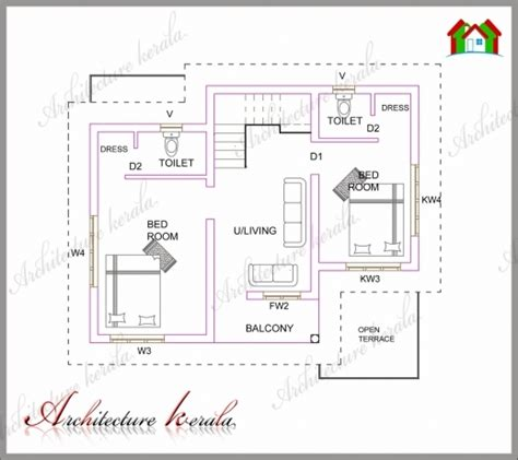 house plans kerala 1200 sq ft house floor plans