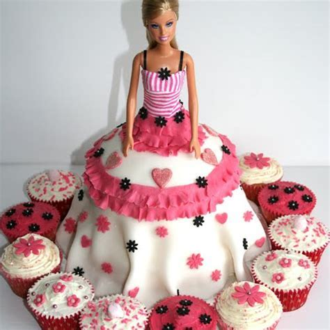 100 Best Barbie Doll Theme Birthday Cakes and Cupcakes
