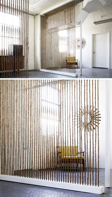 How To Divide A Room Without A Wall by 15 Creative Ideas For Room Dividers Contemporist