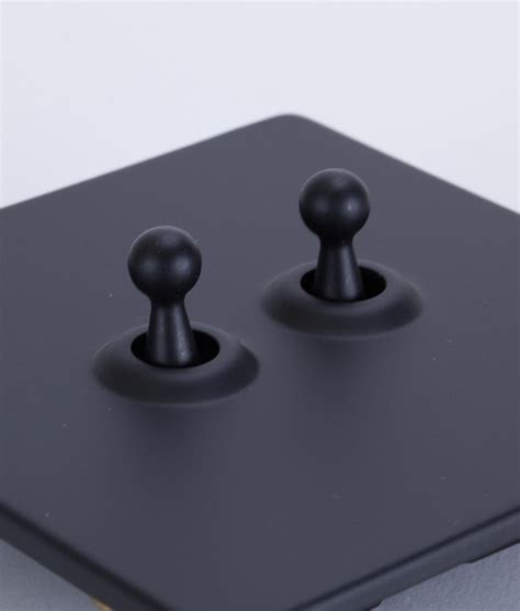 toggle light switch 2 toggle black designer light switches