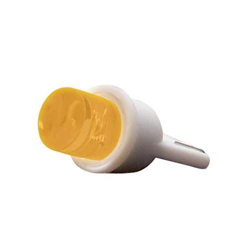 Led T10 Yelow Ultra Bright 10 Titik bright yellow 194 t10 wedge led 12v bulb ebay