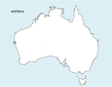 australia map vector free pin map of australian cities on