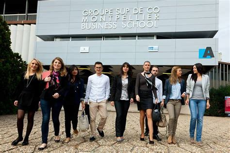 Montpellier Business School Mba by Groupe Sup De Co Montpellier Business School