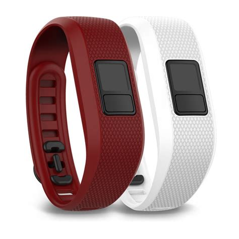 Band Garmin By Garmin Center marsala and white bands garmin