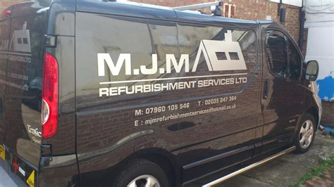 metallic van graphics ruislip