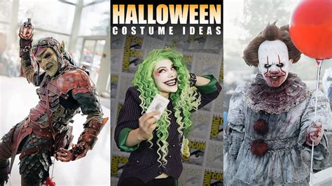 halloween costume ideas scary cosplay  video