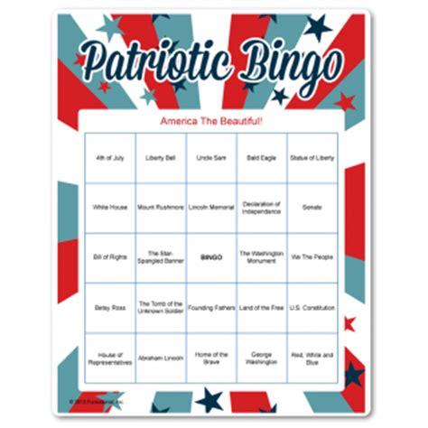 printable veterans day bingo cards veterans day printable games patriotic holidays