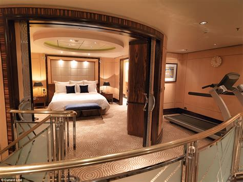 cruise ships with 2 bedroom suites cunard line and crystal cruises luxury suites revealed in photos daily mail online