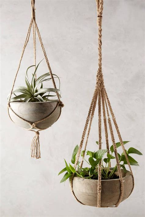 How To Make A Macrame Hanging Planter - 25 best ideas about hanging planters on