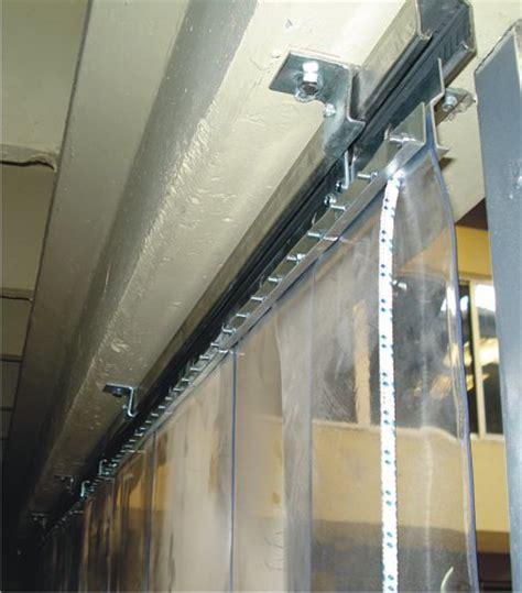 sliding pvc strip curtains azimdağ plastik kayar pvc şerit kapı