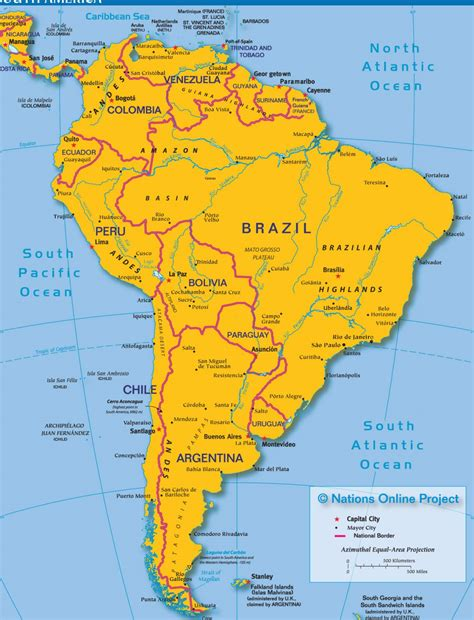 map of south american countries the gallery for gt south american countries and capitals black and white