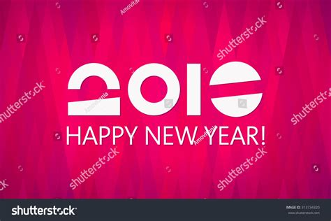 happy new year 2016 template happy new year vector 2016 banner stock vector 313734320