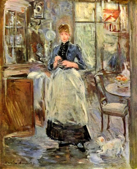 Berthe Morisot In The Dining Room by Fichier Berthe Morisot 003 Jpg Wikip 233 Dia