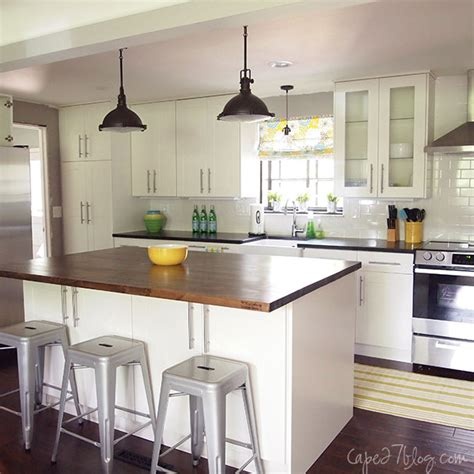 one wall kitchen with island popular kitchen layouts and how to use them
