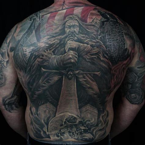 viking tattoo back designs 95 best viking tattoo designs symbols 2018 ideas