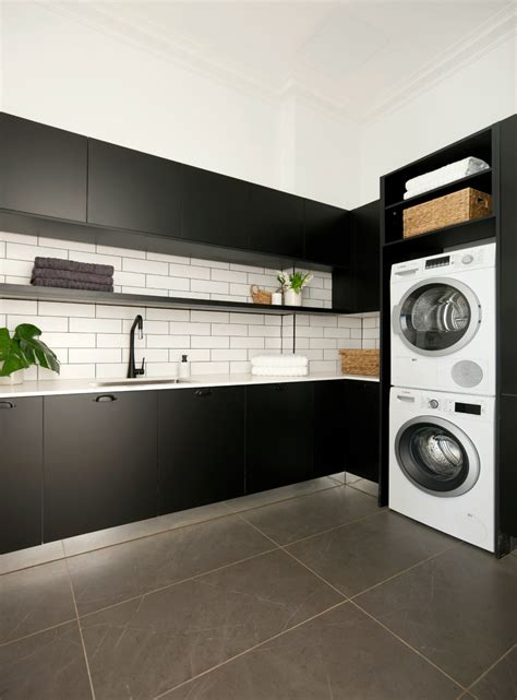 laundry design the block darren palmer s top laundry design tips the block
