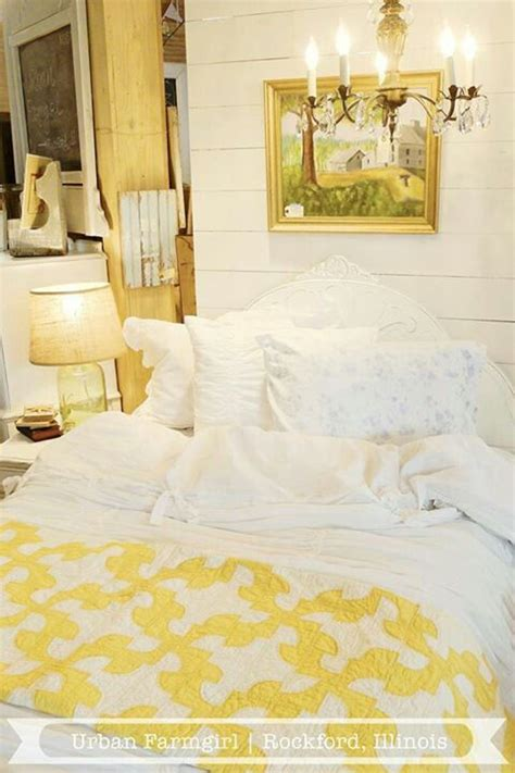 yellow and white bedroom drunkards path yellow and white quilt urban farmgirl my