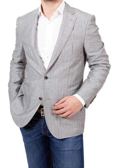 grey blazer hugo boss black t hawke herringbone blazer in light grey
