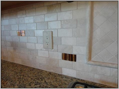 tumbled marble backsplash is beautiful in a subway tile pattern tumbled marble subway tile backsplash tiles home