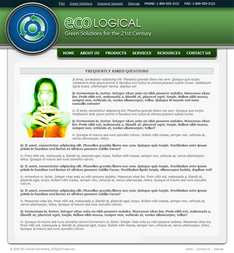 Eco Friendly Website Template Eco Business Template Environmental Web Template Friendly Website Templates
