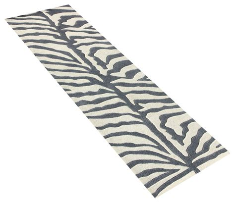grey animal print rug grey and ivory animal print rug contemporary area rugs by horizon home imports inc