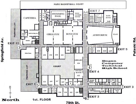 building floor plans school building plans and designs atherton high school