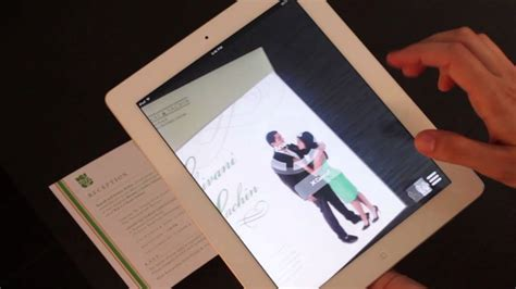 Augmented Reality  Ee  Wedding Ee    Ee  Invitation Ee   Youtube