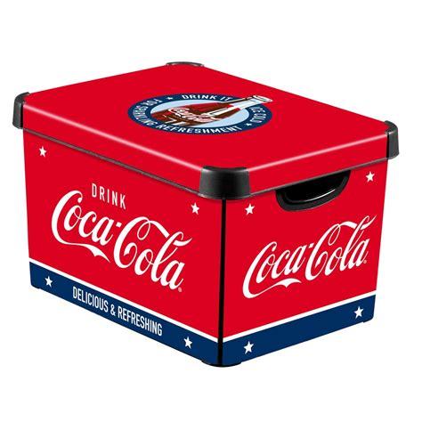 Boite Decorative De Rangement by Boite D 233 Corative Coca Cola 22l Bo 238 Te De Rangement