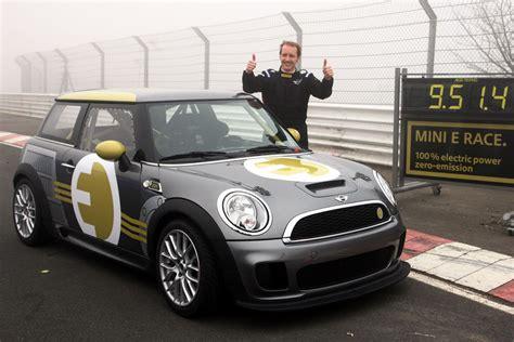 Auto Tuning Bersetzung by Mini E Race Motorsport Mit Gr 252 Ner Kraft Auto Tuning News