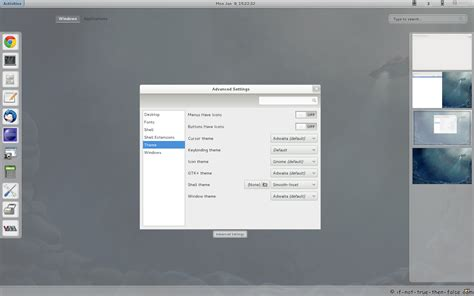 gnome themes centos gnome shell tweaking with extensions and themes on fedora