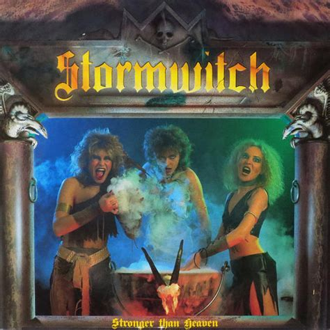 Pbc Rhythm Of Friendship By stormwitch stronger than heaven vinyl lp album at