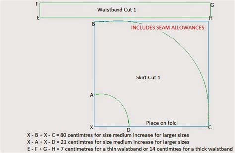 create image pattern online diy skater skirt free pattern instructions greenie