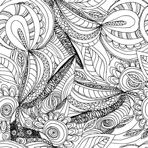 doodle nature nature doodle coloring page kidspressmagazine