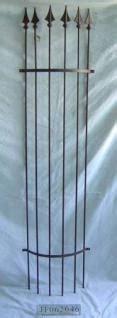 Rankhilfen Aus Eisen 639 by Rankgitter Halbrund Bronce B H43 180cm Kaufen Bei