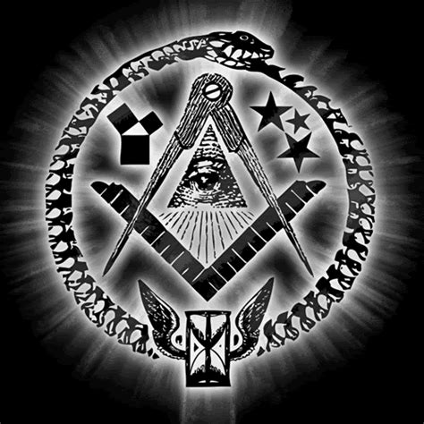illuminati and freemason media conspiracy manipulation ouroboros occult satanic