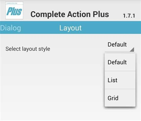 yii change layout per action how to streamline the quot complete action using quot dialog box