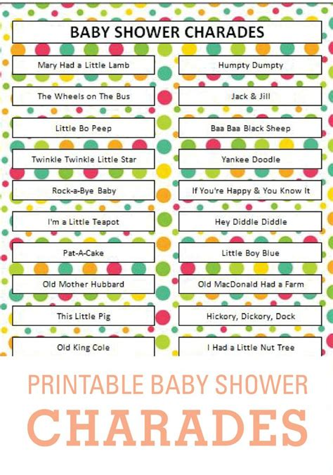 9 best images of printable baby shower charades baby pin by janal pagdilao bala on baby shower reveal