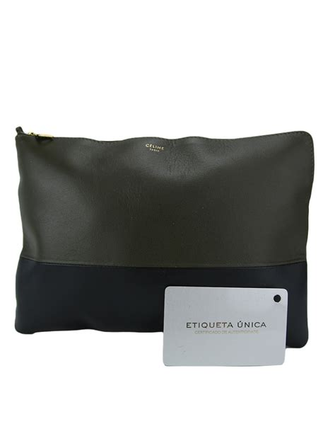Clutch Pouch clutch c 233 line clutch pouch bicolor original aop40