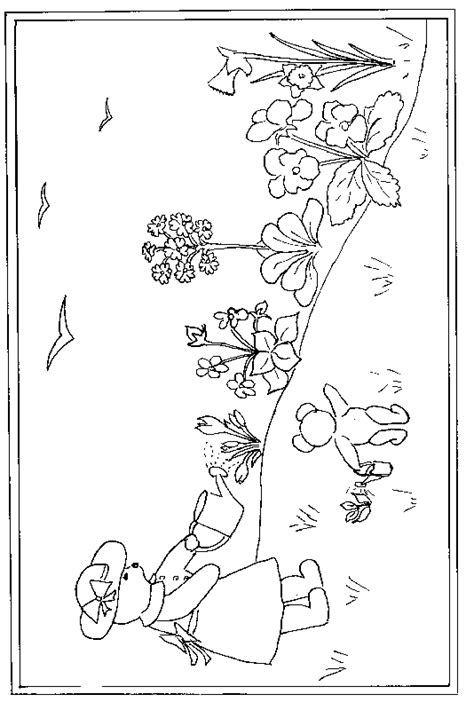 Flower Garden Coloring Page Coloring Pages For Flower Garden Coloring Pages For