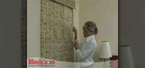 how to install outside mount woven wood shades 171 interior
