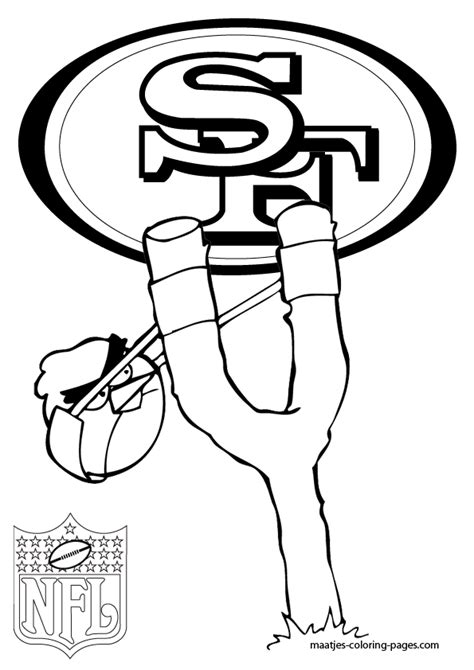 Nfl Free Coloring Pages Nfl Color Pages