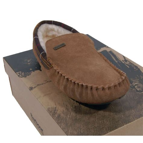 barbour slippers barbour monty slippers camel mens shoes from attic