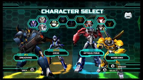 Wii U Transformer Prime The transformers prime the wii u multiplayer brawl part 2