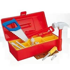 Kaos Bob The Builder Toolbox bob the builder tool box stuff for george