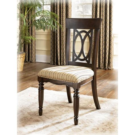 ashley furniture leighton dining room side chair