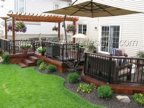 Cheap Backyard Deck Ideas Deck Designs Cheap Deck Designs