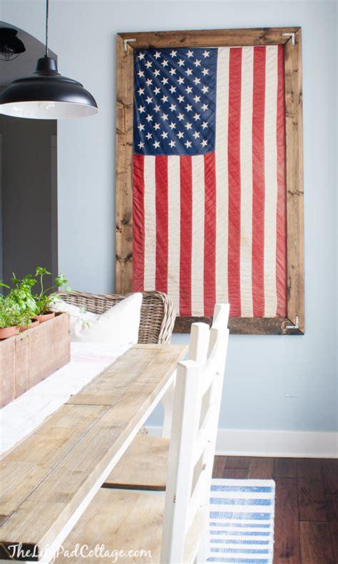 flag decorations for home diy farmhouse american flag decor ideas american flag