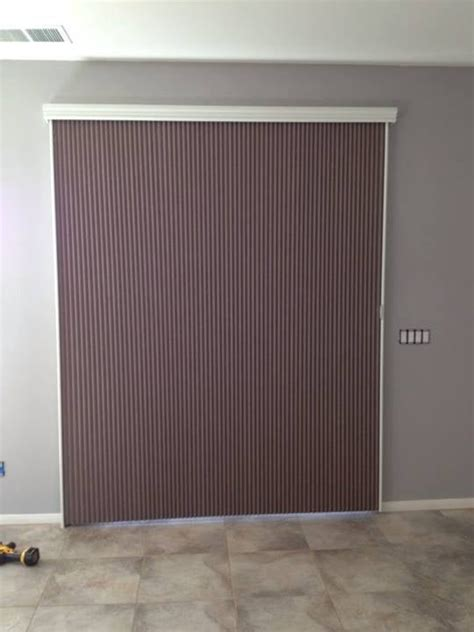 Cellular Blinds For Patio Doors Verticell Or Vertiglide Cellular Blackout Shade For Sliding Glass Patio Doors Yelp