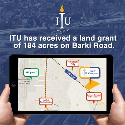 Itu Mba Executive by Itu Has Received A Land Grant Of 184 Acres On Barki