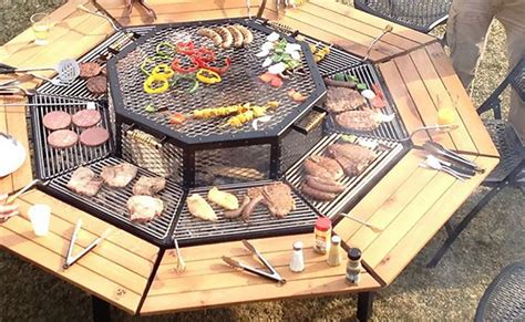 backyard pit grill the ultimate backyard pit grill combo pit ideas